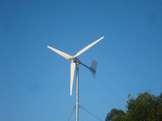 máy phát điện gió