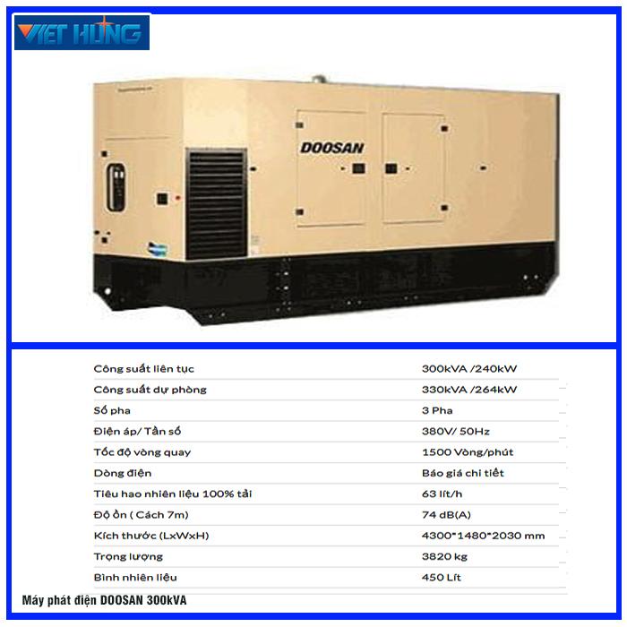 Máy phát điện hãng DOOSAN
