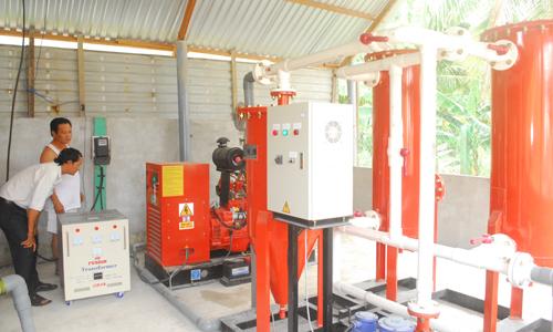 Hình ảnh máy phát điện sử dụng khí biogas