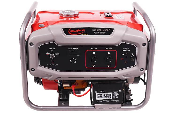 Hình ảnh máy phát điện chạy bằng xăng