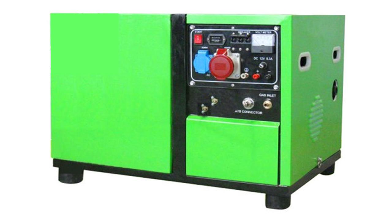 Hình ảnh máy phát điện chạy bằng khí tự nhiên