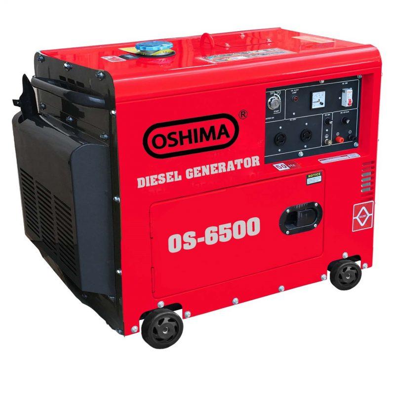 Mẫu máy phát điện chạy dầu 5kw dùng gia đình